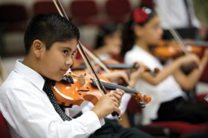 Middle school orchestra programs provide an entry point for many young musicians